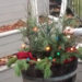 Venkovní květináč na zimu